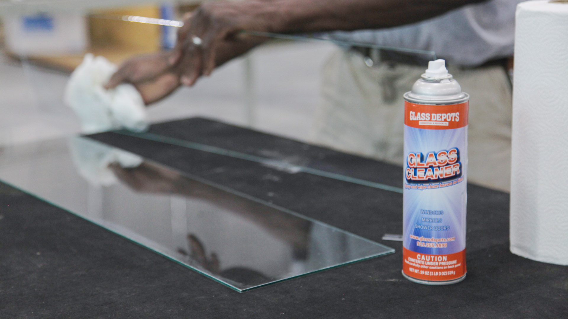 How to clean, protect & maintain your glass table